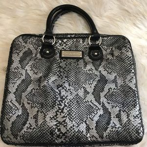Betsey Johnson Snakeskin Laptop Bag 🖤